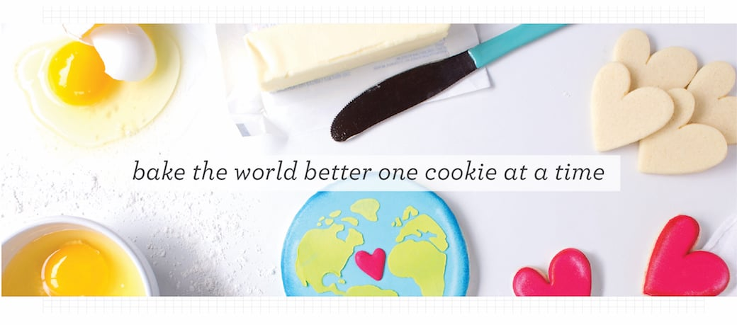bake the world better one cookie at a time