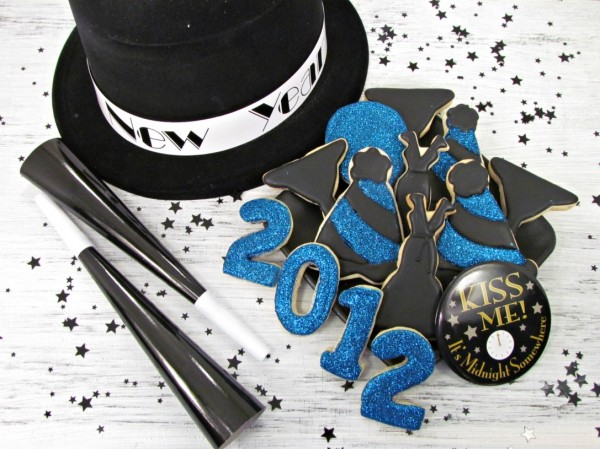 Happy New Year Cookies by The Bearfoot Baker
