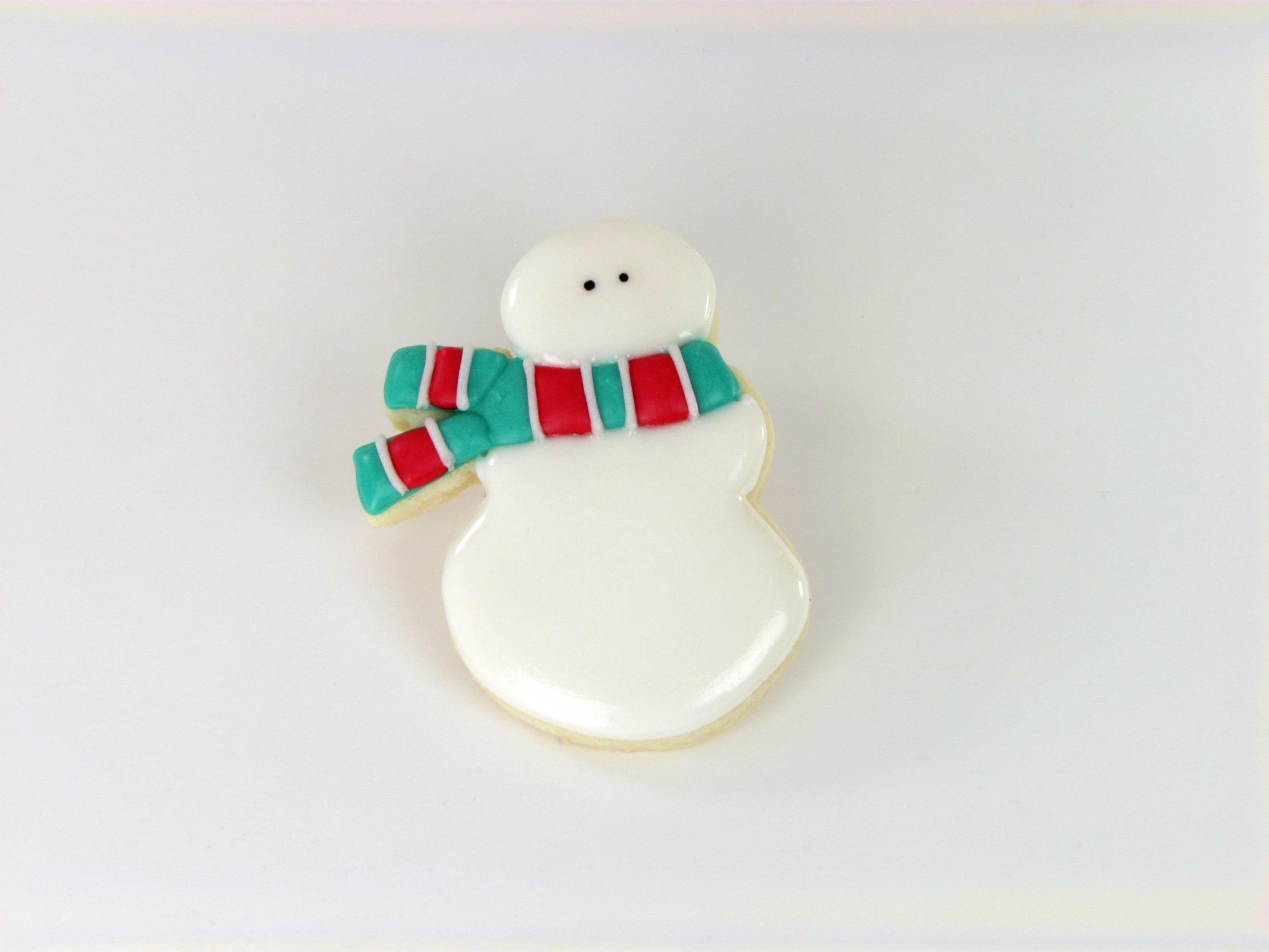 Little Old Snowman Cookies www.thebearfootbaker.com