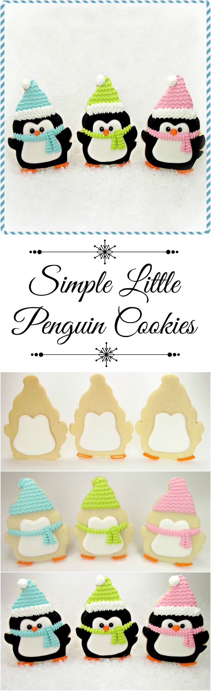 Simple Little Penguin Cookies | The Bearfoot Baker