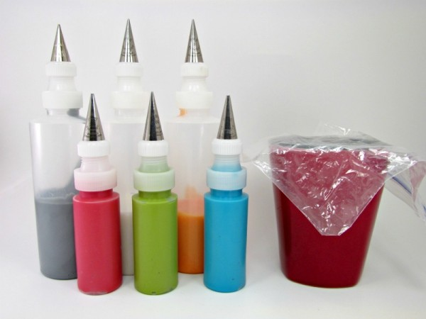 Cookie Decorating Squeeze Bottles Entrancing How I Get Icing In Those Little Bottles  The Bearfoot Baker Design Ideas
