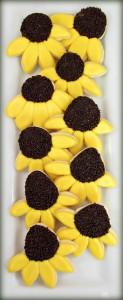 Black Eyed Susan Cookies 101
