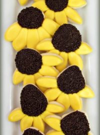 Black Eyed Susan Cookies 101