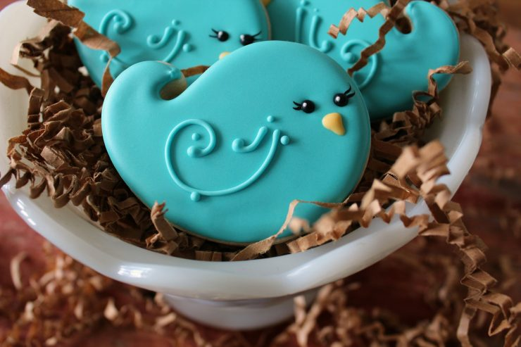 Bluebird Cookies | The Bearfoot Baker