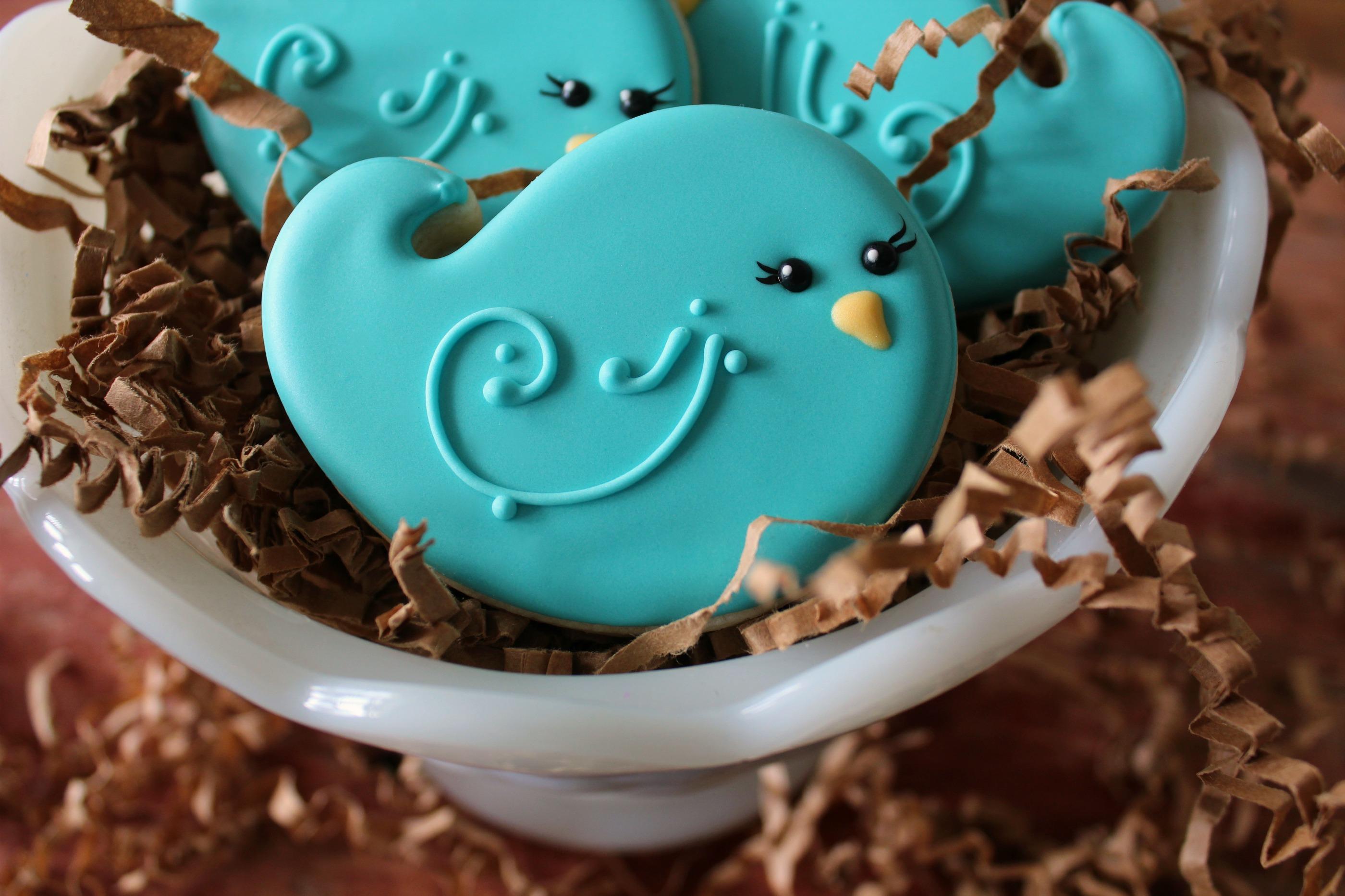 Bluebird Cookies Guest Post By Sugar Belle The Bearfoot