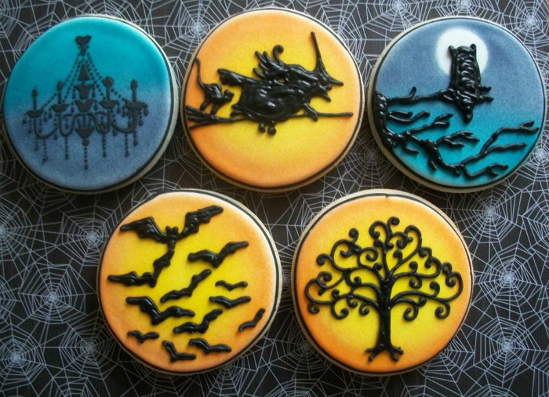 airbrush cookies that make you say wow the bearfoot baker - Halloween Cookies Decorating Ideas