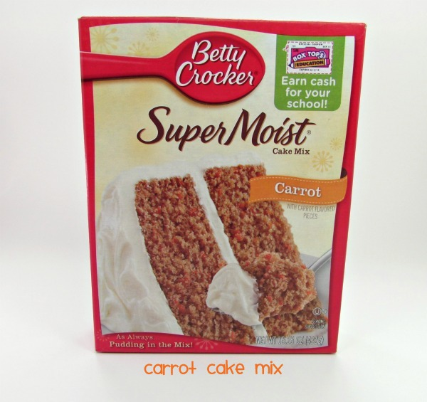 Betty Crocker Carrot Cake Cookie Recipe