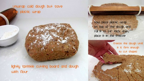 carrot cake cookie dough