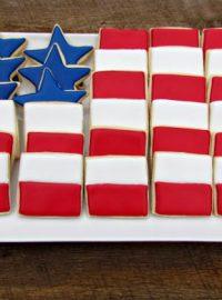 Flag Cookie Platter 7