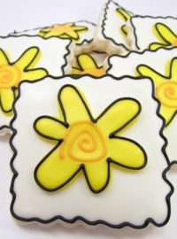 Whimsical Flower Cookies 10