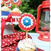 Patriotic Rosette Cookies 17