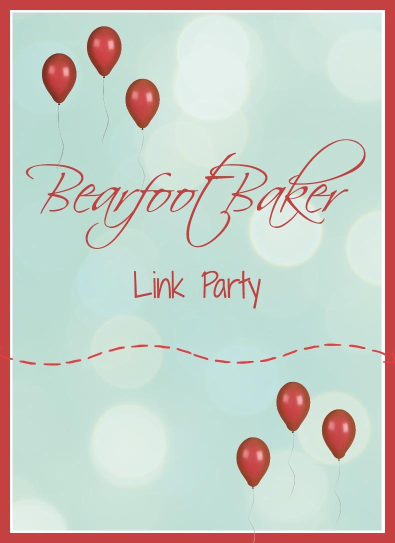 The Bearfoot Baker Link Party via www.thebearfootbaker.com