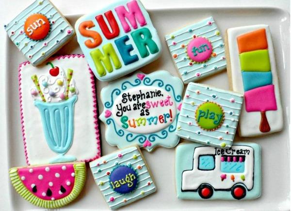 Savor Summer www.thebearfootbaker.com