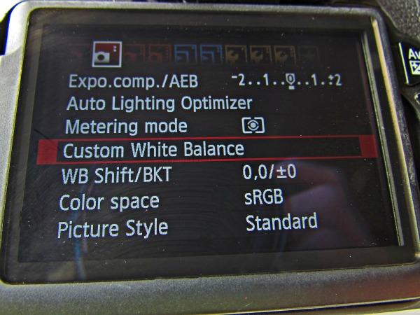 White Balance thebearfootbaker.com