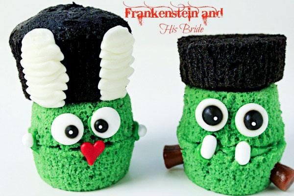 Frankenstein and The Bride of Frankenstein by thebearfootbaker.com