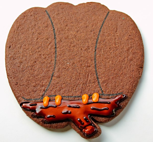Owl Cookie with a Pumpkin Cutter thebearfootbaker.com