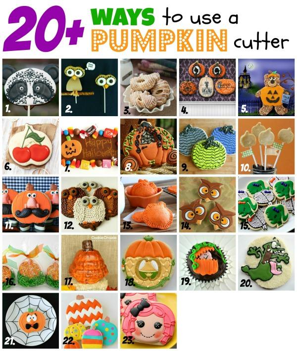 Owl Cookie with a Pumpkin Cutter thebearfootbaker.com