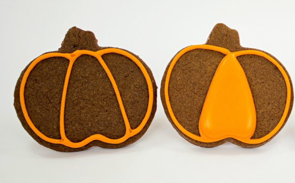 Simple Pumpkin Cookies thebearfootbaker.com