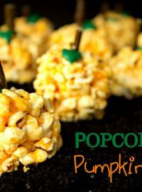 Pumpkin Patch Popcorn Balls!