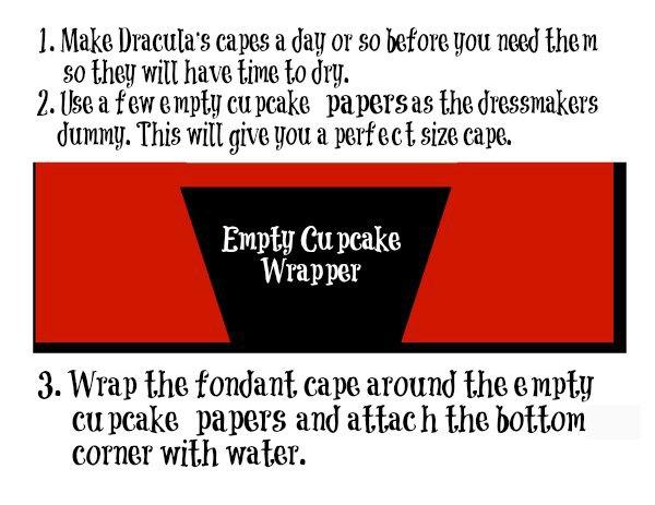 Dracula Cupcakes thebearfootbaker.com