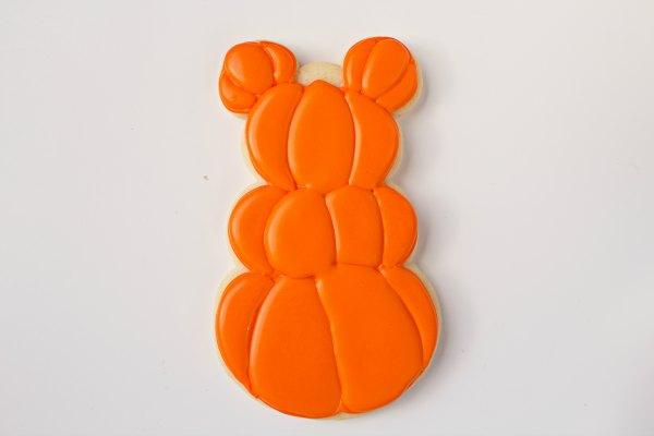 Mickey Mouse Pumpkin Cookies thebearfootbaker.com