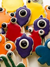 Cute Little Monster Cookies