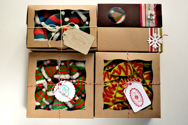 Christmas Cookies Box.Cute Little Christmas Cookies The Bearfoot Baker