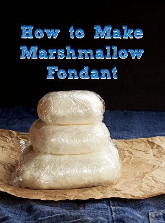 Simple Fondant Recipe with a Short Video by www.thebearfootbaker.com