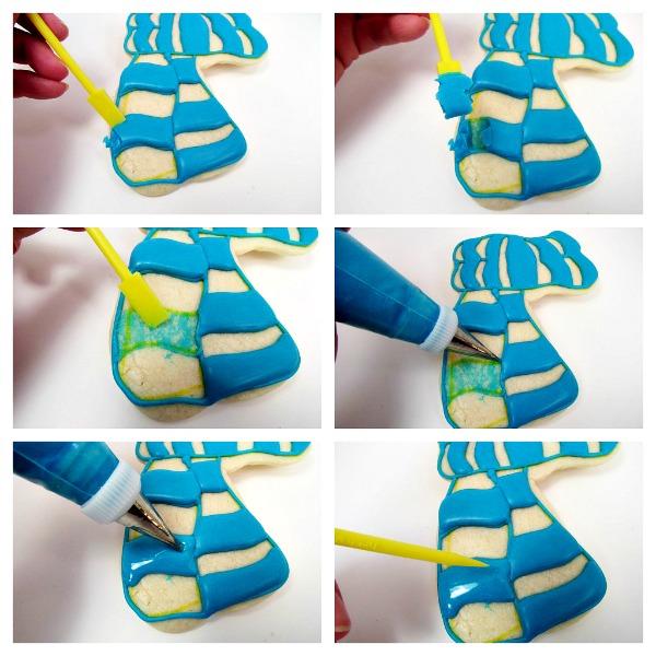 How to fix a mistake on a cookie via thebearfootbaker.com