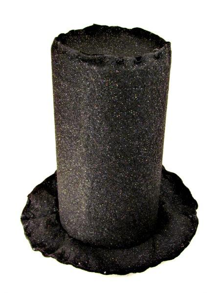 Snowman Hat Tree Topper thebearfootbaker.com