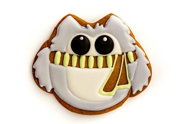 Simple Owl Cookies thebearfootbaker.com