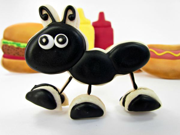 Ant Cookie that Stands Up