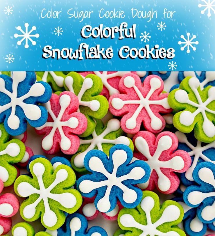 Simple Snowflake Cookies   The Bearfoot Baker