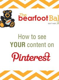 How to find YOUR content on PINTEREST