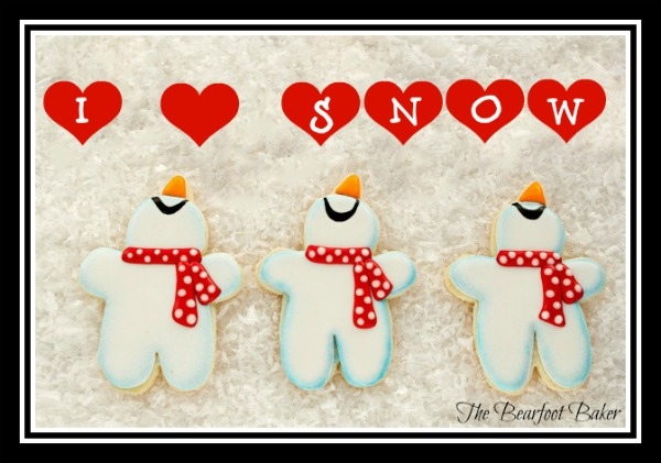 I love snow cookies by The Bearfoot Baker