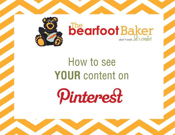 See YOUR Content on PINTEREST