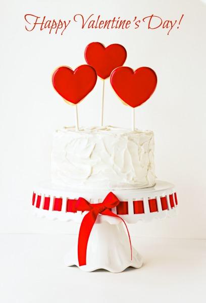 Valentine Cake thebearfootbaker.com