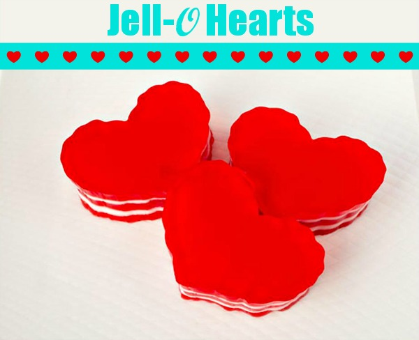 Layered Jell-O Hearts Recipes — Dishmaps