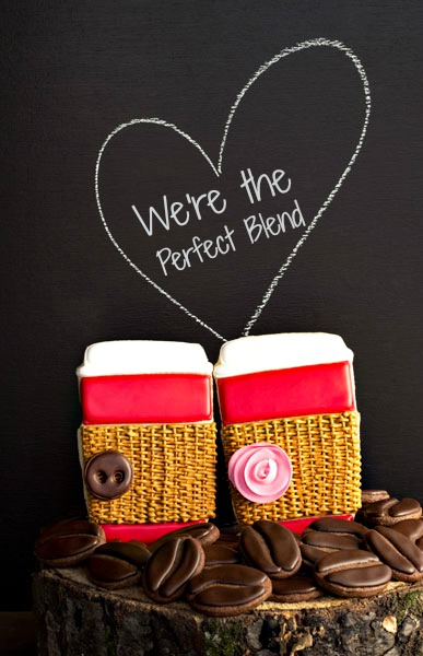 We're the Perfect Blend Valentine