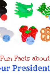 President's Day Fun Facts with Cookies