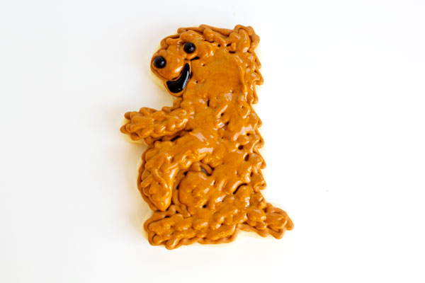 Happy Groundhog Day Cookies