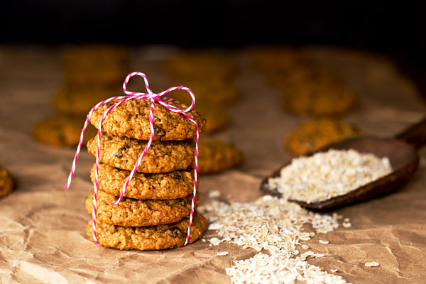 Oatmeal Cookies by the bearfoot baker