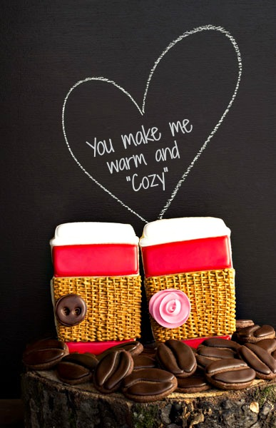 You Make Me Warm and Cozy Valentine!