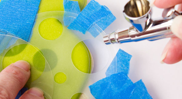 How to Airbrush with Stencils