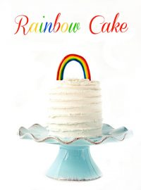 royal icing rainbow, free pattern, airbrushing tutorial , the bearfoot baker