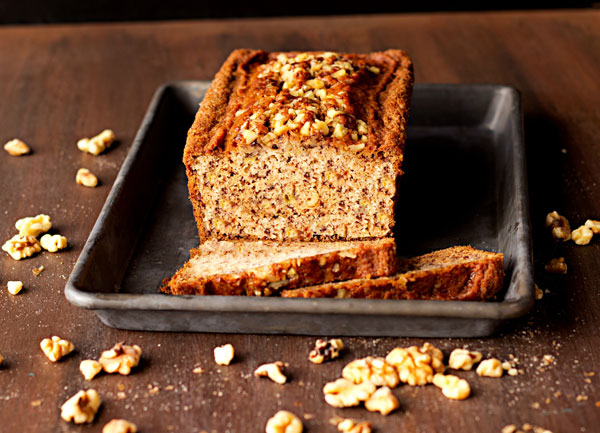Starbucks Banana Walnut Bread Recipe (Low-Fat)
