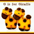 Giraffe, Lion and Elephant Cookies