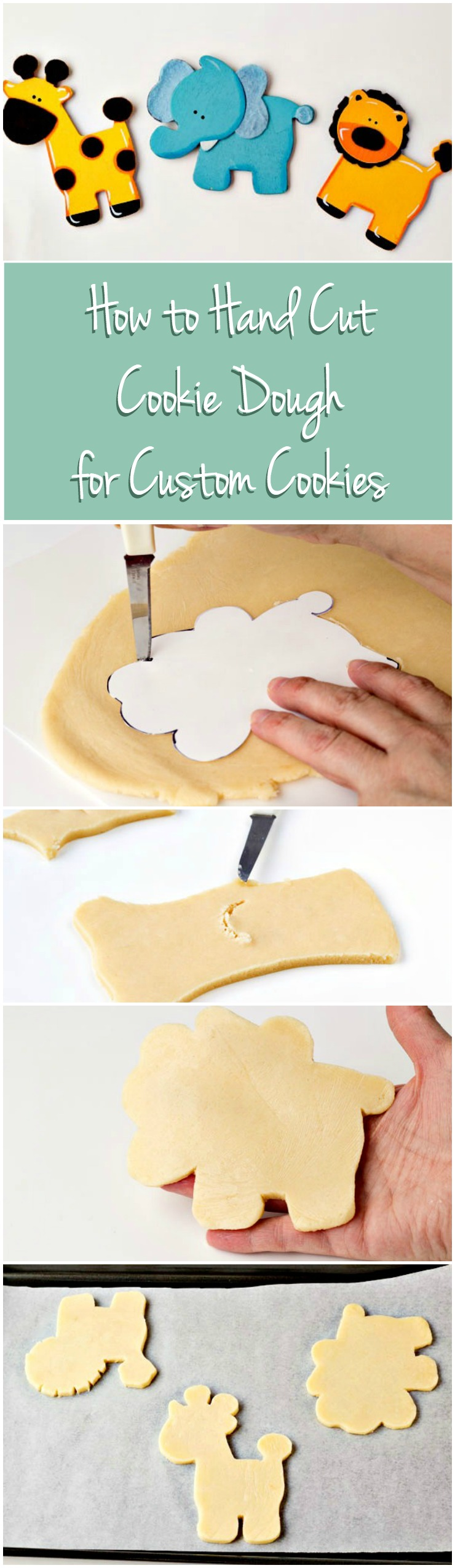 How to Hand Cut Cookie Dough | The Bearfoot Baker