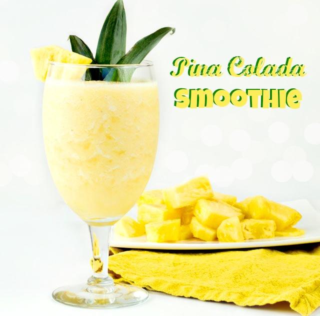 how to make pina colada using mix
