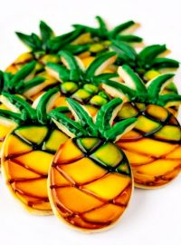 Pineapple Cookies by The Bearfoot Baker